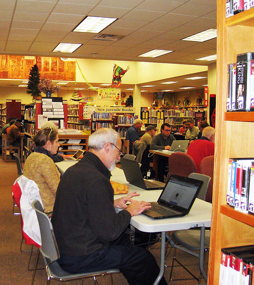 San Juan Island community turns to its public library for help when