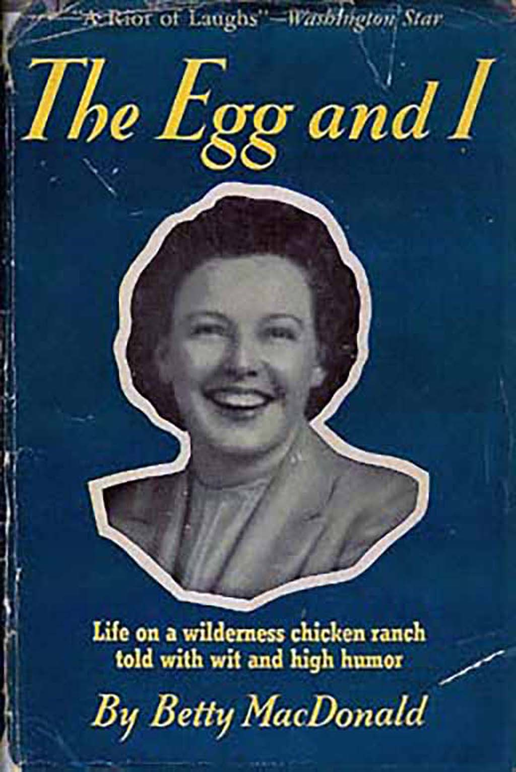 betty macdonald u0026 39 s the egg and i is published on october 3