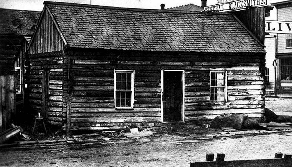 The First Non Indian Families Arrive At The New Settlement Of Port Townsend On February 23 1852