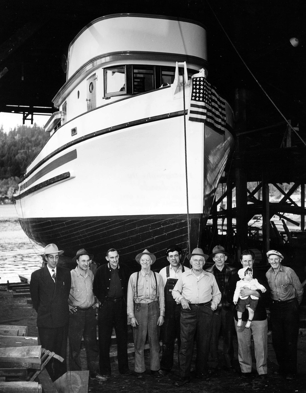 Skansie Shipbuilding Company (Gig Harbor) - HistoryLink org