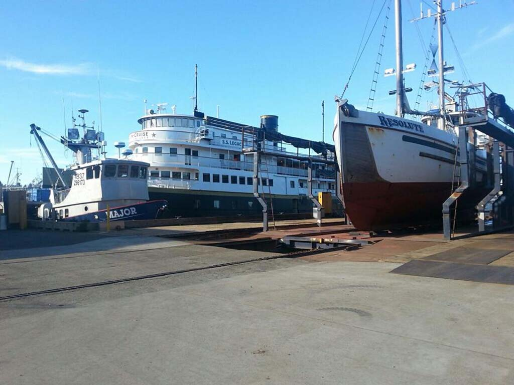 Fishing vessel owners marine ways incorporates on march 28 for Seattle marine and fishing supply