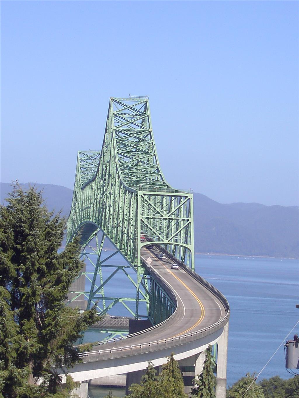 Oregon Highway Department Completes Astoria Megler Bridge