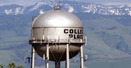 water tower college place