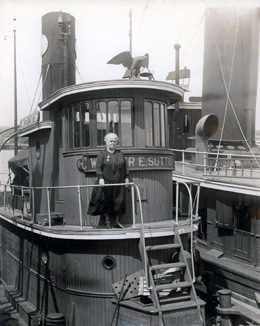 Tugboat Annie: Seattle's First Movie - HistoryLink org
