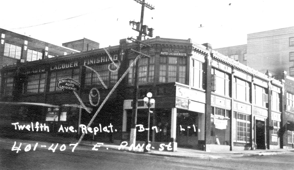 Pike Pine Auto Row Seattle Historylink Org