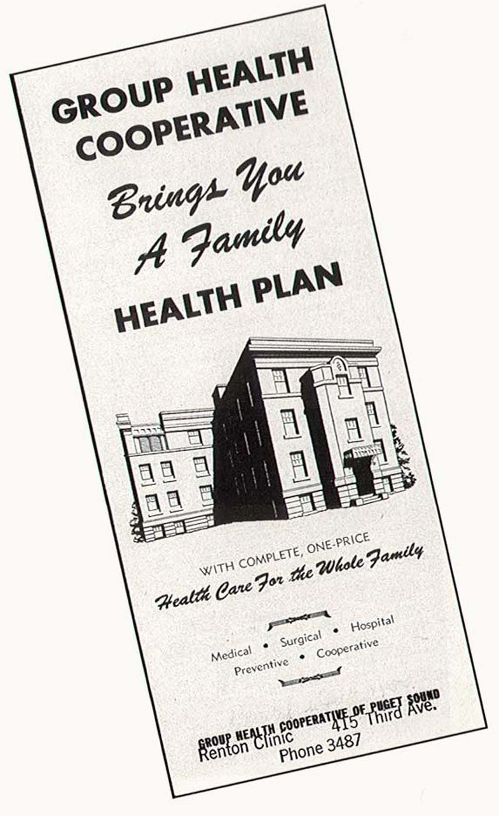 Group Health Cooperative formally begins offering medical ...