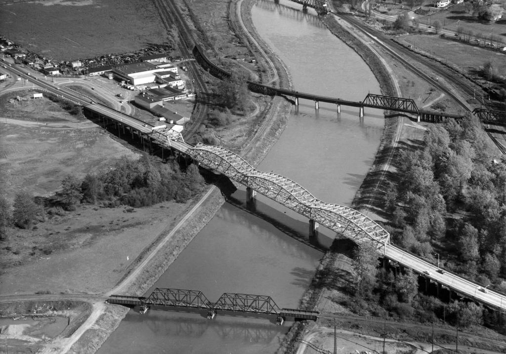 Puyallup avenue bridge historylink aerial view malvernweather Choice Image