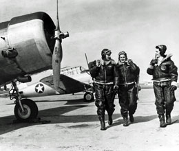 Living In A Van >> Women Airforce Service Pilots from Washington - HistoryLink.org