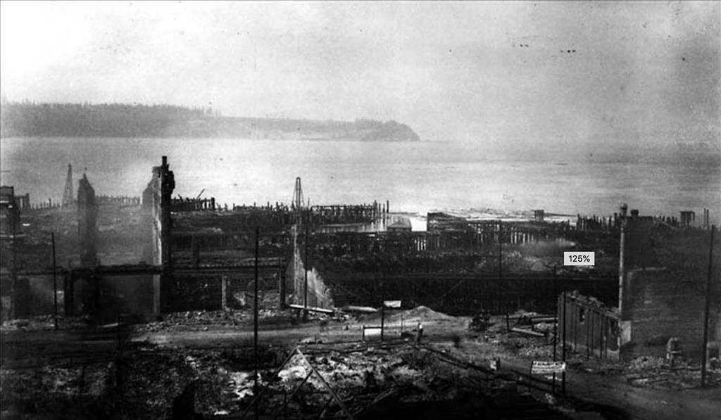 Rudyard Kipling Visits Seattle Soon After The Great Fire