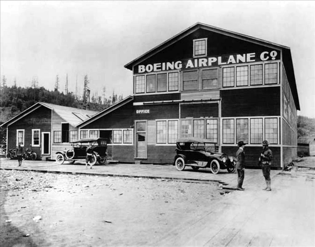 Boeing And Early Aviation In Seattle 1909 1919