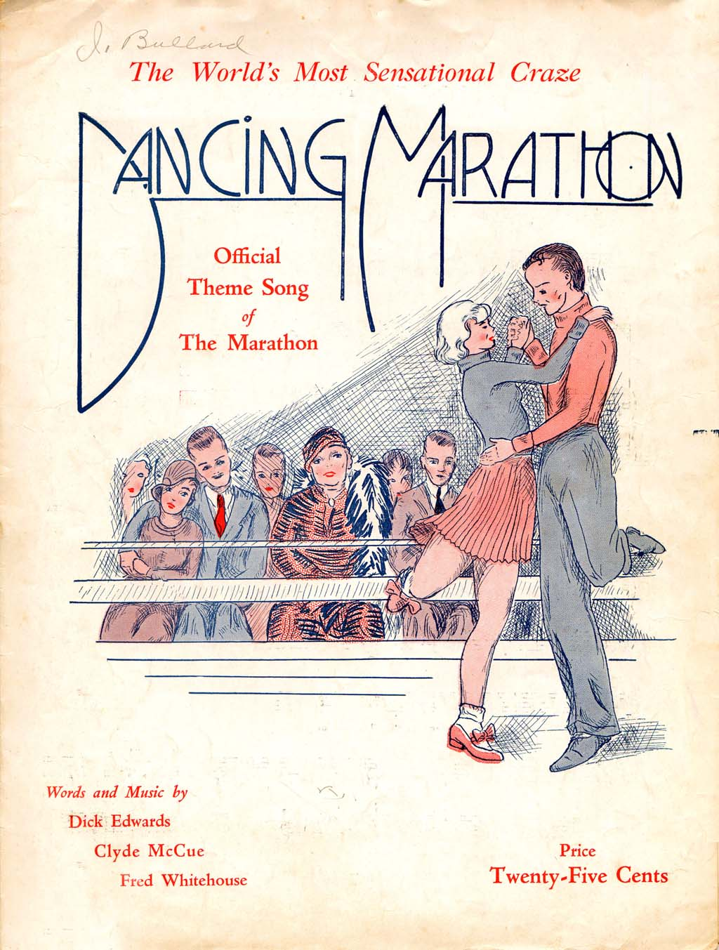 dance marathons of the 1920s and 1930s