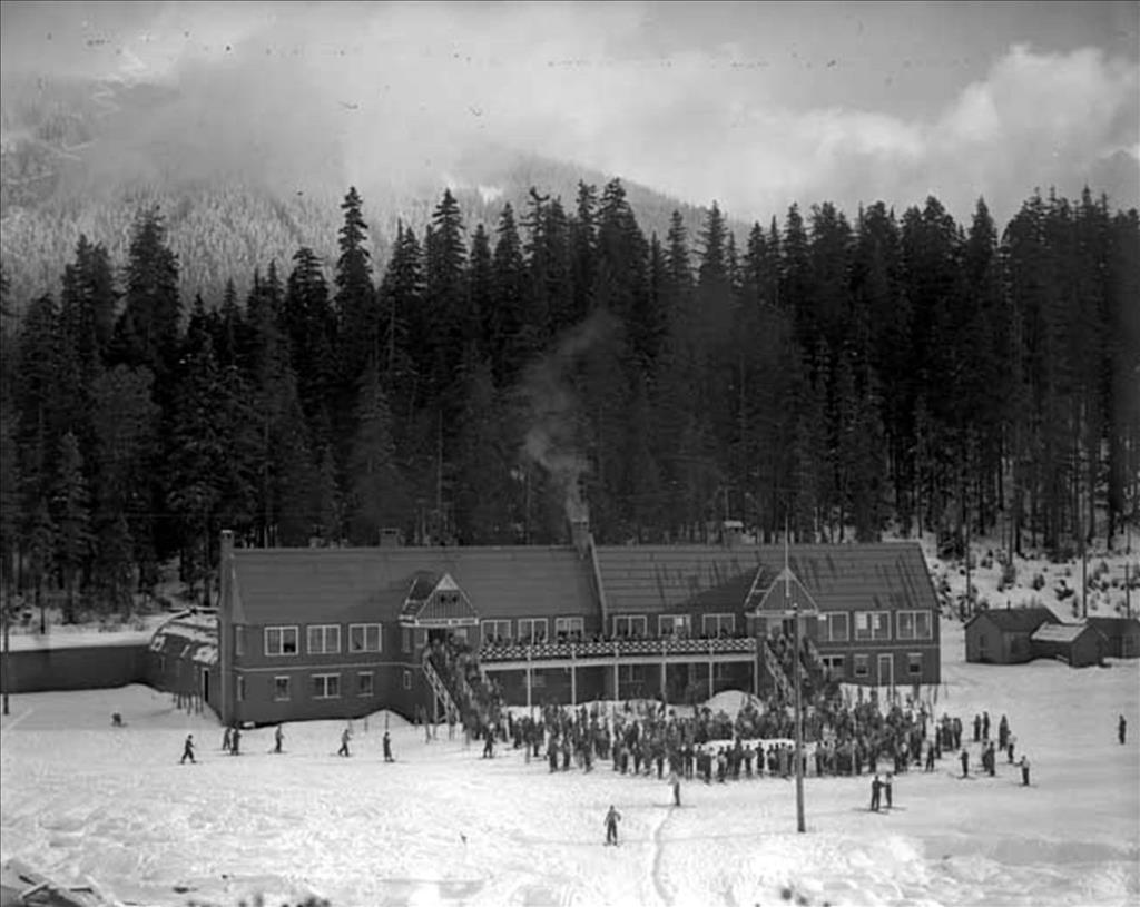 milwaukee ski bowl  1938