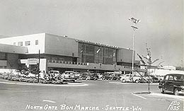 Northgate Shopping Mall in Seattle opens on April 21, 1950