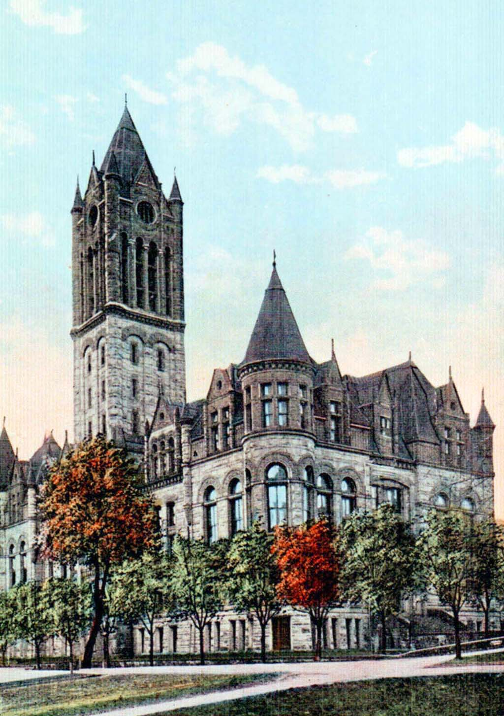 Pierce County Courthouse Tacoma 1893 1959 Historylink Org