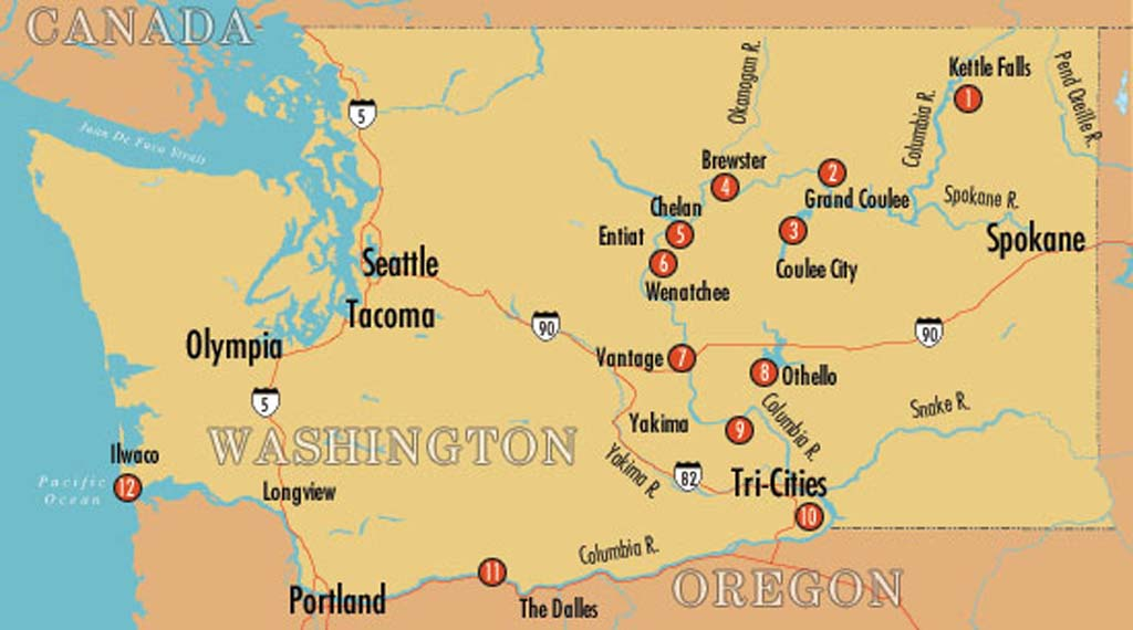 Columbia River Tour - HistoryLink.org