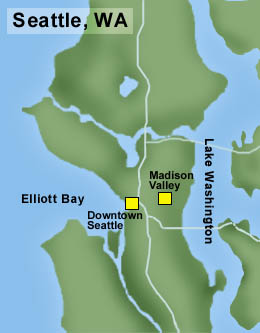 Zip Code Map: Madison Valley Seattle Map