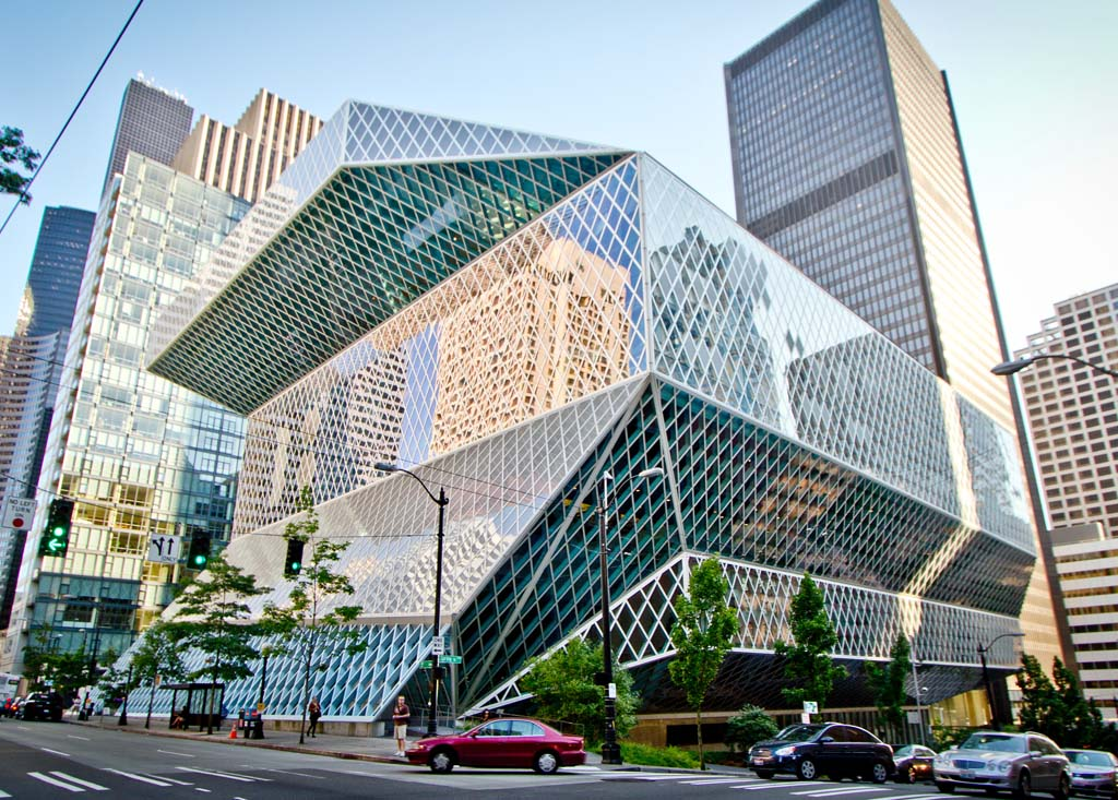 Seattle Public Library - Data Photos & Plans - WikiArquitectura