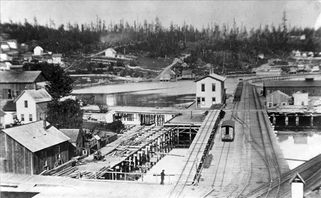 Railroad Stations: Their Evolution in Seattle - HistoryLink org