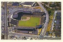 seattle pilots play their first home game at sicks stadium on april