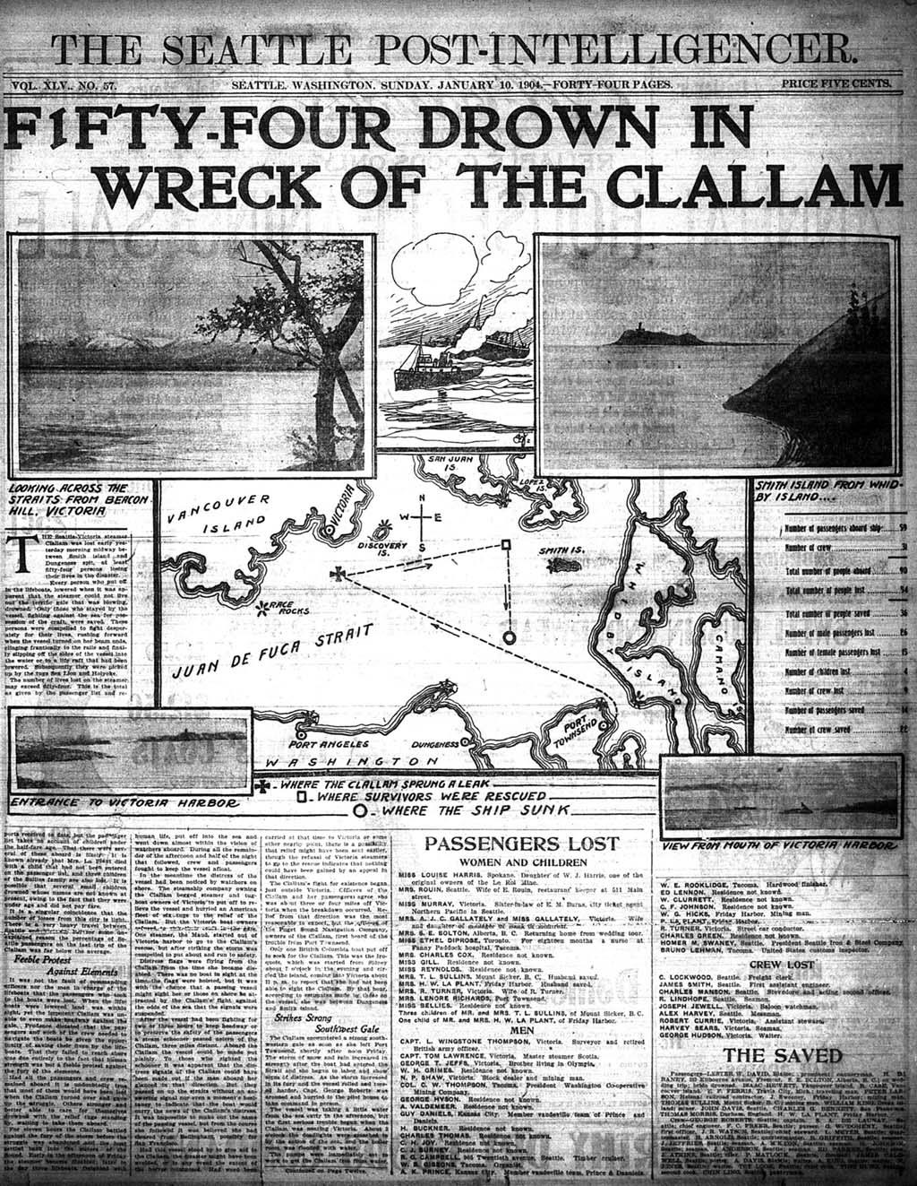 Graveyard of the Pacific: Shipwrecks on the Washington Coast