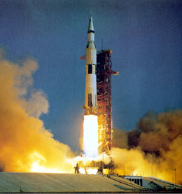 Apollo 11 Launches For Moon Walk On July 16 1969