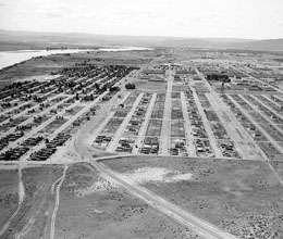 Construction of North Richland Construction Camp, which ...