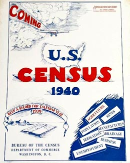 1940 Census The 16th Federal Census Is First To Use