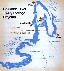 Columbia River Treaty And Canada  HistoryLink