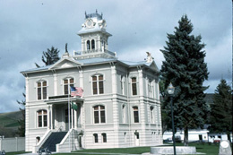 Columbia County Courthouse 1887 Dayton Historylink Org