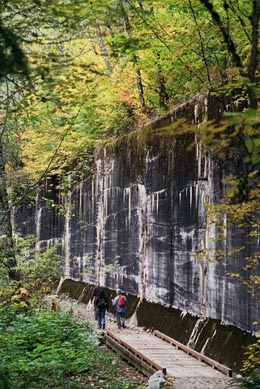 How Much Is A Mile >> The Iron Goat Trail opens on October 2, 1993 ...