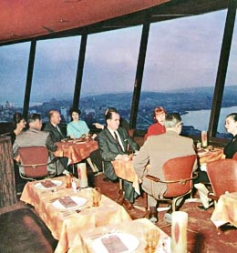 Space Needle Restaurant  Kramer  Gideon A   1917 2012    HistoryLink org. Dinner Seattle Space Needle. Home Design Ideas