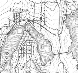 Harvey Pike starts to dig a canal connecting Seattles Union and