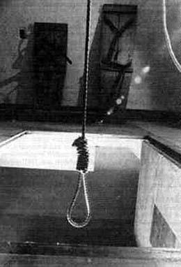 James E. Mahoney is hanged on December 1, 1922, for the ...