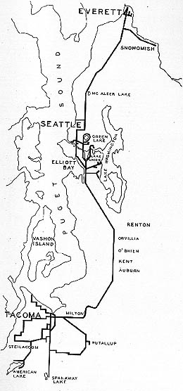 Interurban Rail Transit In King County And The Puget Sound